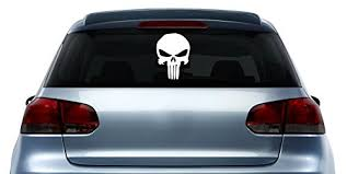 Punisher Logo Symbol Marvel Vinyl Sticke Buy Online In Guernsey At Desertcart