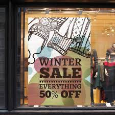 Retail Window Clings Printing Uprinting Com