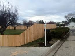 Frontier Fence Cedarwood Fencing Installation Services Boise
