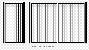 Fence Gate Steel Wrought Iron Iron Gate Rectangle Fence Png Pngegg