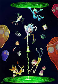 rick and morty wallpaper for iphone 8