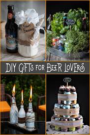 diy gifts for beer a round of