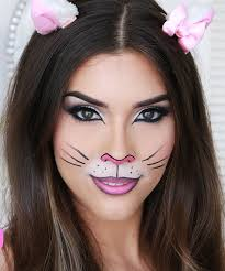 face makeup for bunny costume