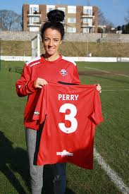 NEW SIGNING: Sophie Perry moves to Lewes FC Women