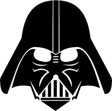 Amazon Com Star Wars Darth Vader Vinyl Decal Sticker Bumper Car Truck Window 6 Wide Matte White Color Arts Crafts Sewing