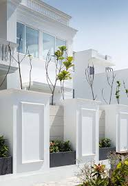 Sapovilla 116 By Conarch Architects Compound Wall Design Exterior Wall Design House Gate Design