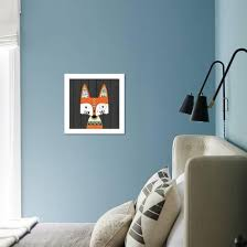 Tribal Fox Art Print Tamara Robinson Art Com