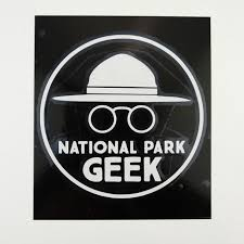 National Park Geek Window Decal