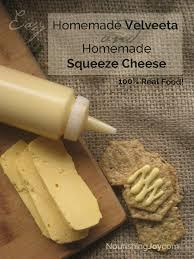 real food homemade cheez whiz