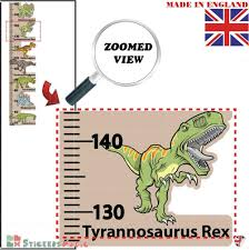 Kids Room Children Nursery Growth Measuring Ruler Stickersmagic 100 Removable Decal Dinosaur Height Chart Wall Sticker Perfect Present Birthday Gift For 5 6 7 8 Year Old Boys Height Charts