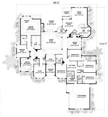 house plan 55772 one story style with