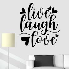 Motivational Quotes Wall Stickers Quote Love Live Laugh Vinyl Decal Inspirational Modern Home Decoration Removable Bedroom Decor Wall Stickers Aliexpress