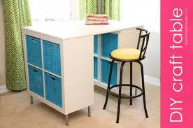 diy counter height craft table a