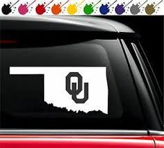 Oklahoma Sooners Ou State Pride Decal Vinyl Car Truck Window Sticker University Ebay