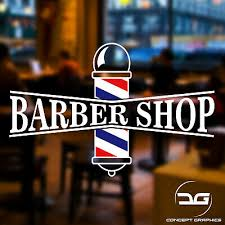 Barber Shop Pole Turkish Hair Salon Shop Window Wall Vinyl Decal Sticker Sign Ebay