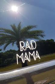 Rad Mama Car Decal Sandilake Clothing