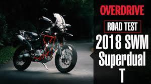 road test 2018 swm superdual t