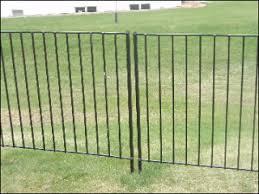 Portable Wireless Electric Dog Fence Decorative Metal Fence Panels