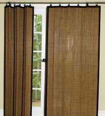 easy glide bamboo window treatments and