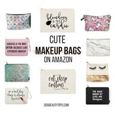 cute makeup bags on amazon gift guide