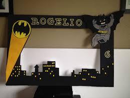 Lego Batman Styrofoam Frame Con Imagenes Fiesta De Batman