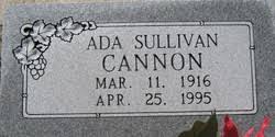 Ada Catherine Sullivan Cannon (1916-1995) - Find A Grave Memorial