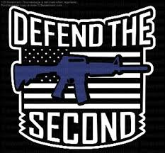 Auto Parts Accessories Vinyl Car Decal Patriotic Defend The 2nd Gun Rights Smaitarafah Sch Id