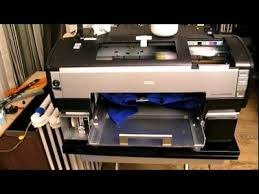 dtg diy epson 1400 printing white ink