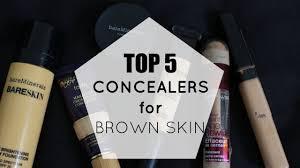 top 5 concealers for brown indian skin