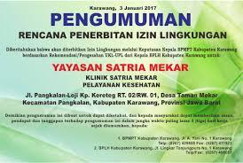 hari lingkungan hidup sedunia tahun dlhk kabupaten karawang