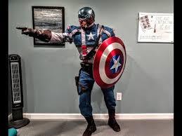 first avenger costume replica