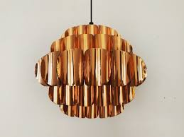 copper pendant lamp by thorsten orrling