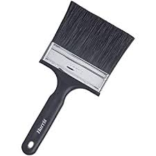 Harris 844 Shed And Fence Brush 4 Inch 100mm Amazon Co Uk Diy Tools