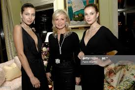 Models and Hilary Ross attend The Kickoff Reception for the AMERICAN...  News Photo - Getty Images