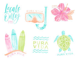 Hakuna Matata Anklet Pura Vida Bracelets Surf Stickers Homemade Stickers Cute Stickers