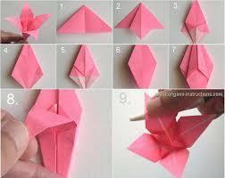 origami paper flower tutorial hamle