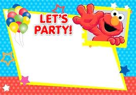 Free Printable Elmo Invitation Templates Invitaciones Elmo