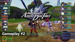 Fairy Fencer F Advent Dark Force Gameplay 2 Youtube
