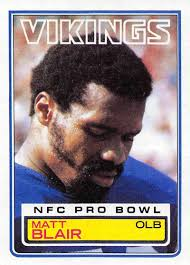 Football NFL 1983 Topps #98 Matt Blair ...