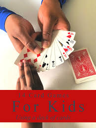 card games for kids using a deck of