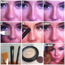 makeup tricks that help your nose look