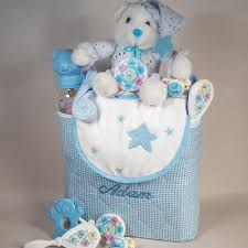 personalized tote bag baby boy gift at
