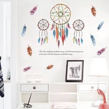 Wall Stickers Home Wall Decor Colorful Feathers Sticker For Kids Room Bedroom Decoration Diy Poster Mural Wallpaper Wall Decals Decorative Decals For Walls Decorative Stickers From Qiansuning88 5 67 Dhgate Com