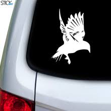 Bird On Apple Decal For Car Window Stickany