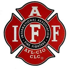Amazon Com The Large 6 Reflective Red Iaff Union 3m Vinyl Firefighter Us Made Window Decal Everything Else