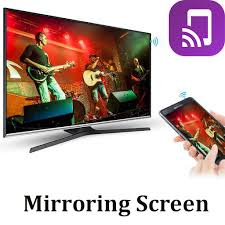 screen mirroring display and connect