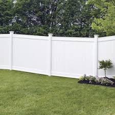 Freedom Ready To Assemble Emblem 6 Ft H X 8 Ft W White Vinyl Flat Top Fence Panel Lowes Inventory Checker Brickseek