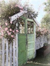 wood rustic garden gates homemydesign