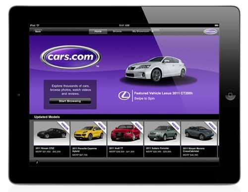 Image result for cars.com app