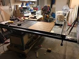 Wife Was Sneaky And Got Me A New Rail And Fence System Yup It S 7ft Long Woodworking